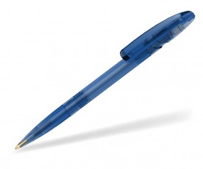 Klio Kugelschreiber NOVA ICE transparent MTI blau