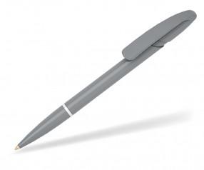 Klio Kugelschreiber NOVA R high gloss CU grau weiss