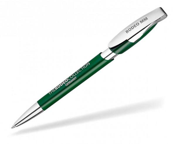 Klio Kugelschreiber RODEO MM I dunkelgrün
