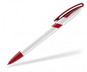 Klio Kugelschreiber RODEO double weiss rot
