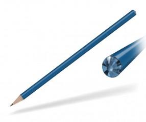 Reidinger Kristall Bleistift Werbegeschenk blau sapphire