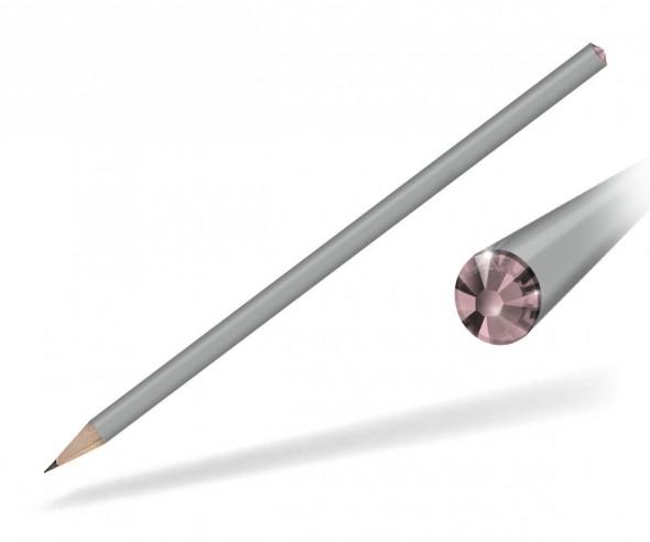 Reidinger Kristallbleistifte Werbemittel grau rose