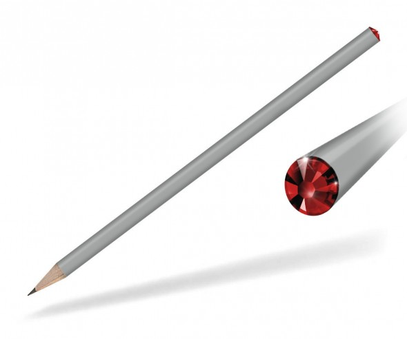 Reidinger Kristallbleistifte Werbemittel grau siam