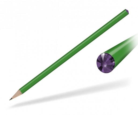 Reidinger Kristall Bleistift Streuartikel grün Amethyst