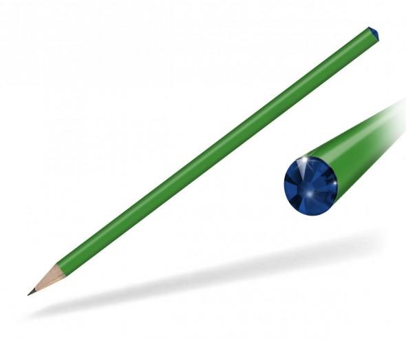 Reidinger Kristall Bleistift Streuartikel grün cobat