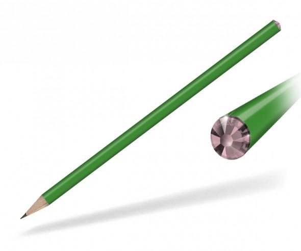 Reidinger Kristall Bleistift Streuartikel grün rose