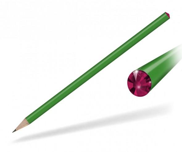 Reidinger Kristall Bleistift Streuartikel grün ruby