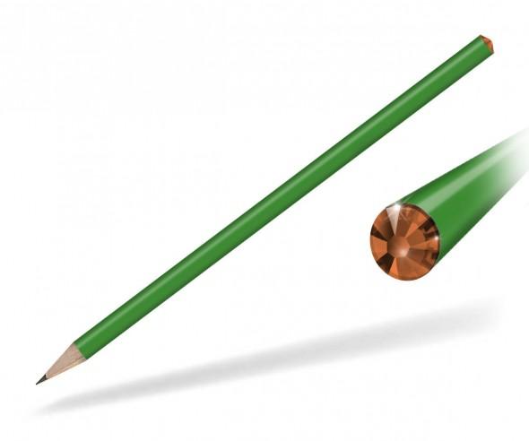 Reidinger Kristall Bleistift Streuartikel grün sun