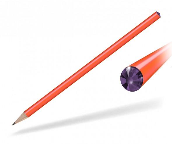 Reidinger Kristall Bleistift Giveaway orange Amethyst