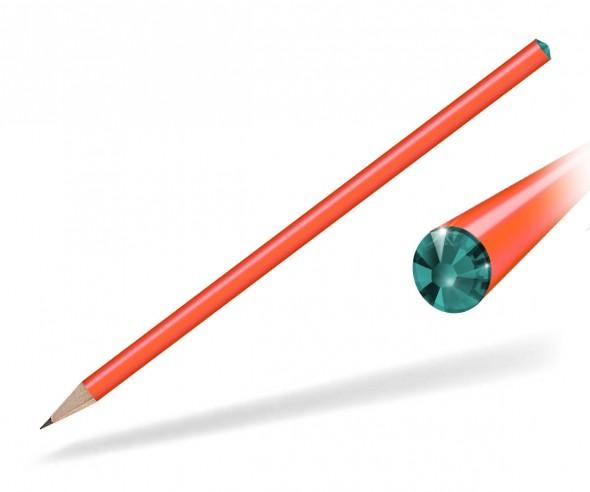 Reidinger Kristall Bleistift Giveaway orange blue zircon