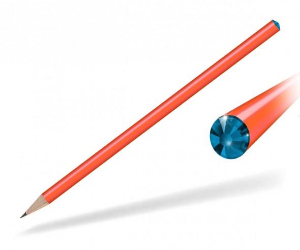 Reidinger Kristall Bleistift Giveaway orange capri blue