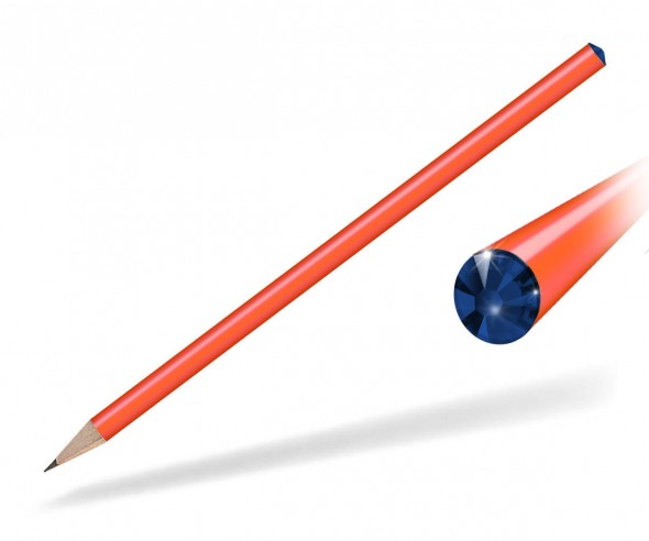 Reidinger Kristall Bleistift Giveaway orange cobat
