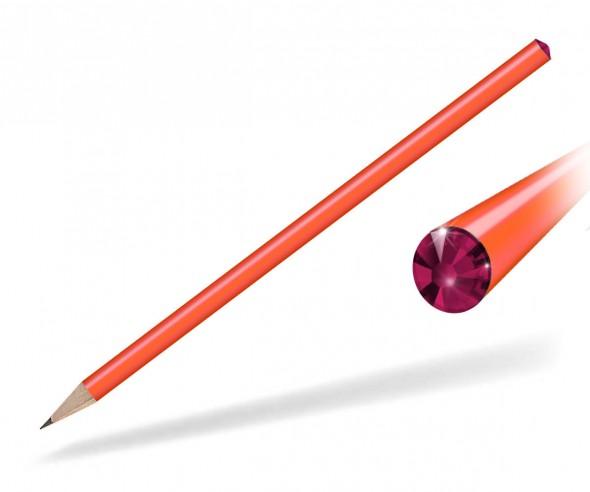 Reidinger Kristall Bleistift Giveaway orange ruby