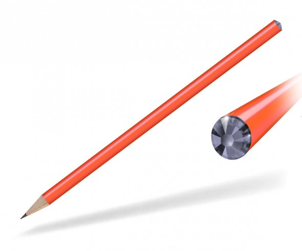 Reidinger Kristall Bleistift Giveaway orange tanzanite