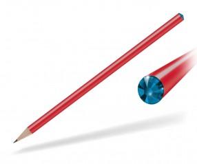 Reidinger Kristall Bleistift Präsent rot capri blue