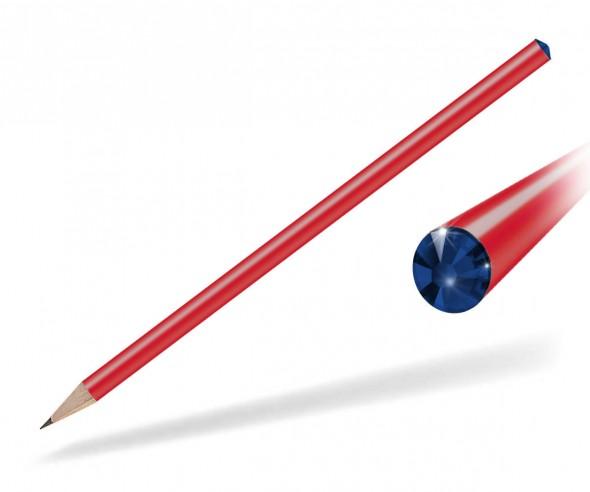 Reidinger Kristall Bleistift Präsent rot cobat