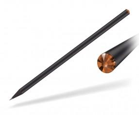 Reidinger Kristall Bleistift Werbeartikel schwarz durchgefärbt sun