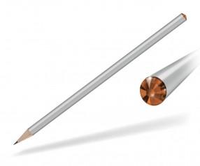 Reidinger Kristall Bleistift mit Werbedruck silber sun