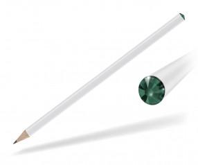 Reidinger Kristall Bleistift Promotionartikel weiss emerald