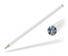 Reidinger Kristall Bleistift Promotionartikel weiss light sapphire