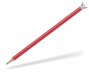 Reidinger Bleistift mit Krone rot Silber Märchenkrone