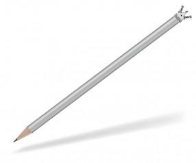 Reidinger Bleistift Werbeartikel mit Krone silber Silber Märchen Krone