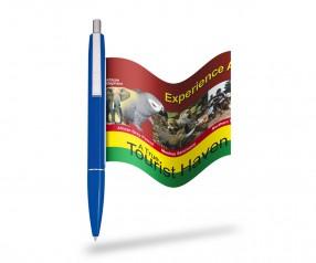 Bannerkugelschreiber Info-Pen 1103 Regular inklusive Druck, BLAU