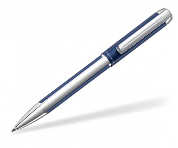 Pelikan Pura Kugelschreiber silber blau