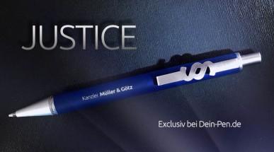 Kugelschreiber im Steuerberater und Rechtsanwalt Design