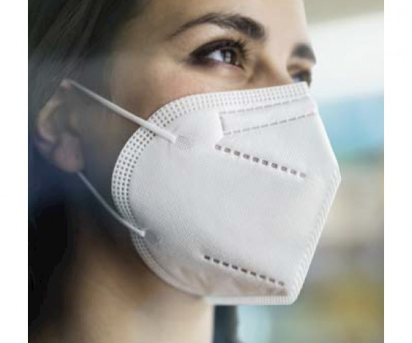 FFP2 zertifizierte Maske Gesichtsmaske Mund- und Nasenbedeckung mit Druck