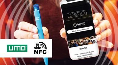 NFC Werbekugelschreiber mit Nahfeldkommunikation von UMA