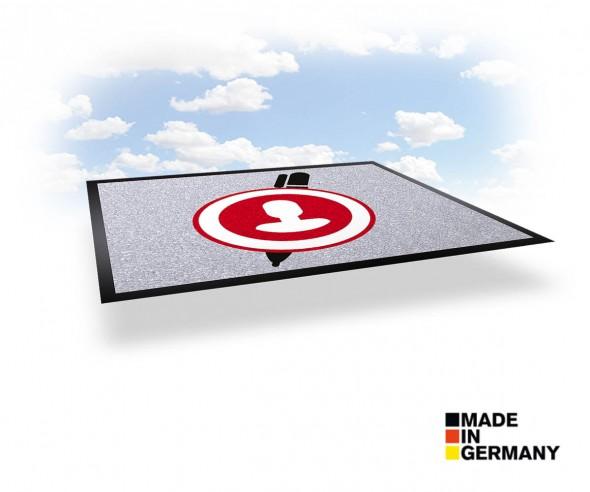 Schmutzfangmatte mit Logo bedrucken - NOVUS IMAGE 85 x 150 cm