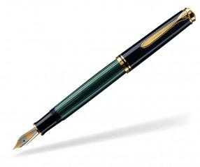 Pelikan Premium Serie 400 Souverän Füllhalter schwarz grün