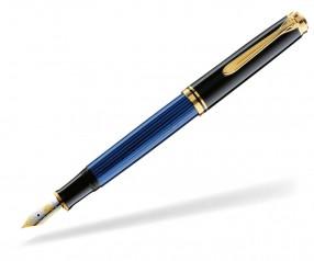 Pelikan Premium Serie 600 Souverän Füller schwarz blau