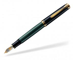 Pelikan Premium Serie 600 Souverän Füller schwarz grün