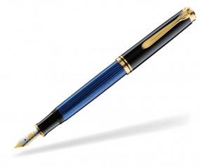 Pelikan Premium Serie 800 Souverän Füller schwarz blau
