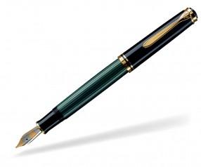 Pelikan Premium Serie 800 Souverän Füller schwarz grün