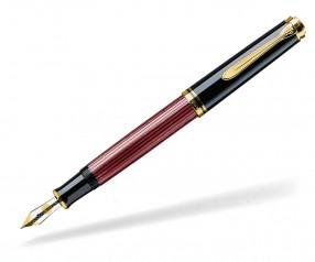 Pelikan Premium Serie 800 Souverän Füller schwarz rot