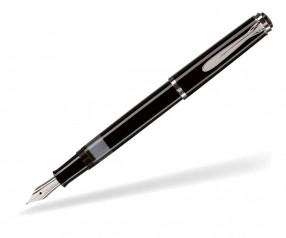 Pelikan Elegance Serie 205 Füllhalter schwarz silber