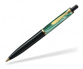 Pelikan Elegance Serie 200 Kugelschreiber schwarz grün marmoriert
