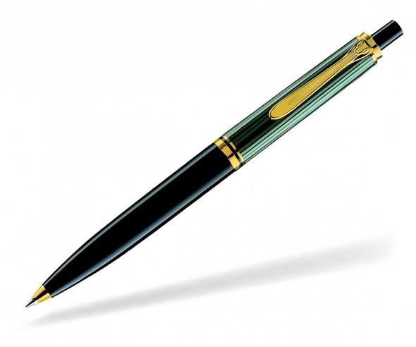 Pelikan Premium Serie 400 Souverän Kugelschreiber schwarz grün