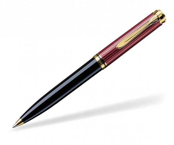 Pelikan Premium Serie 600 Souverän Kugelschreiber schwarz rot