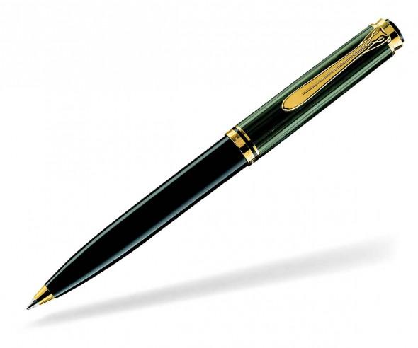Pelikan Premium Serie 600 Souverän Kugelschreiber schwarz grün