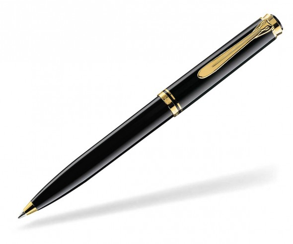 Pelikan Premium Serie 800 Souverän Kugelschreiber schwarz
