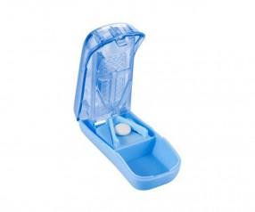 Tablettenteiler Werbemittel 4015 mit Schnittschutz bedruckbar mit Logo - hellblau