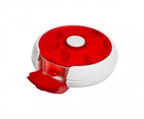 Pillendose Werbeartikel Tablettendose 4151 Medizin Werbemittel weiss rot