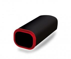 PowerBank Werbemittel POWER+ Klio schwarz rot