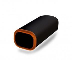 PowerBank Werbemittel POWER+ Klio schwarz orange-rot
