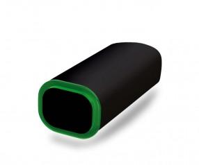 PowerBank Werbeartikel POWER+ Klio schwarz dunkelgrün