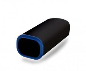 PowerBank Werbemittel POWER+ Klio schwarz blau